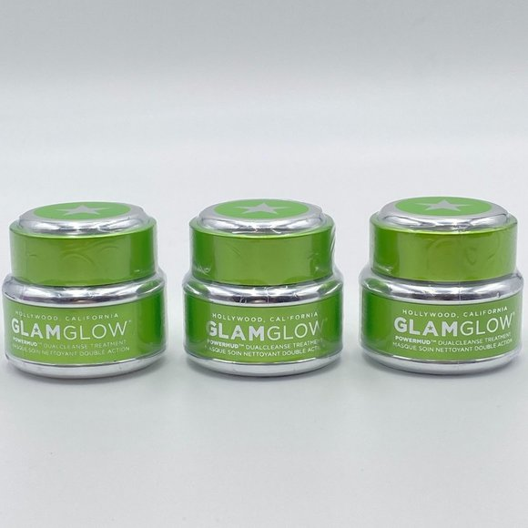 3 GLAMGLOW Power Mud Dual Cleanse Treatment